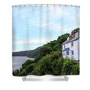 Clovelly - England Shower Curtain