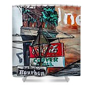 Clover Grill - New Orleans Shower Curtain