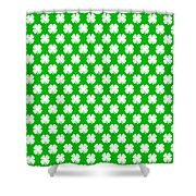 Clover Titled  - Pattern Shower Curtain