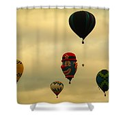 Clown Balloon Shower Curtain