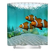 Clownfish Shower Curtain