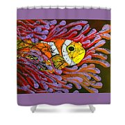 Clownfish I  Shower Curtain
