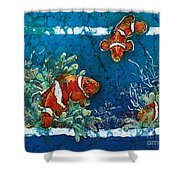 Clowning Around - Clownfish Shower Curtain