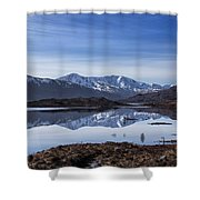 Cluanie Dam Shower Curtain