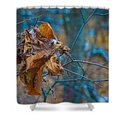 Clump Of Fall - Early Winter Shower Curtain