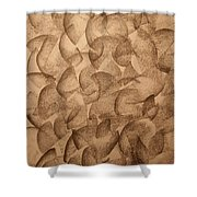 Clusters Shower Curtain