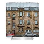Clydebank Former Fire Station Building Shower Curtain