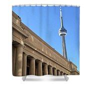 Cn Tower Toronto Shower Curtain