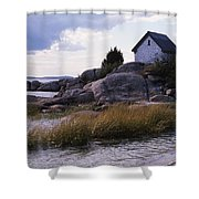 Cnrf0909 Shower Curtain