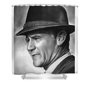 Coach Tom Landry Shower Curtain