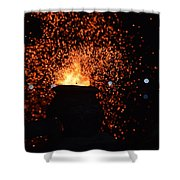 Coal Stove Shower Curtain