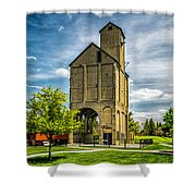 Coaling Tower Shower Curtain