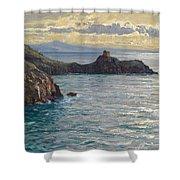 Coast At Amalfi Shower Curtain