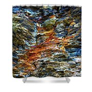 Coast - Color Of Rock Shower Curtain