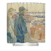 Coast Fishermen Shower Curtain