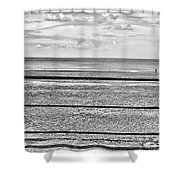 Coast - Horizon Lines Shower Curtain