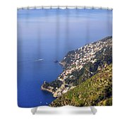 Coast Of Amalfi Shower Curtain
