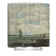 Coast Of Brittany Shower Curtain