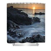 Coast Of Grace Shower Curtain
