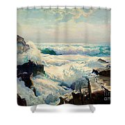 Coast Of Maine Shower Curtain