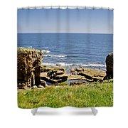 Coast. Seascape 1. Shower Curtain
