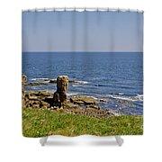 Coast. Seascape 3. Shower Curtain