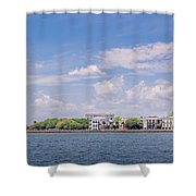 Coastal Area Of Charleston Shower Curtain