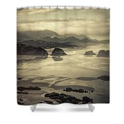 Coastal Dawn Shower Curtain