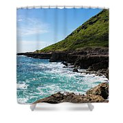 Coastal Drive Shower Curtain