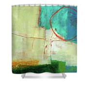 Coastal Fragment #7 Shower Curtain