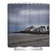 Coastal Homes Kennebunkport  Shower Curtain