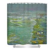 Coastal House Shower Curtain