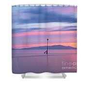 Coastal Kaleidoscope Shower Curtain