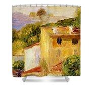 Coastal Landscape 1904 Shower Curtain