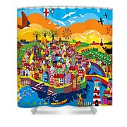 Coastal Shower Curtain
