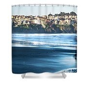 Coastal Scenes At Usa Pacific Coast Shower Curtain