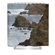 Coastal Storm Shower Curtain
