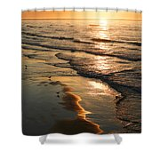 Coastal Sunrise Shower Curtain