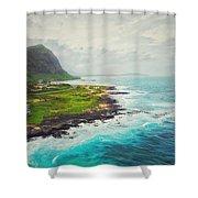 Coastal Views Shower Curtain