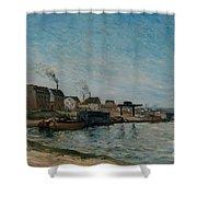 Coastal Village Shower Curtain