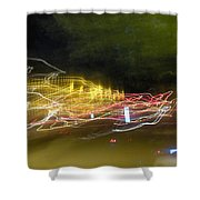 Coaster Of Lights Shower Curtain