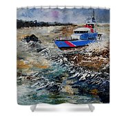 Coastguards Shower Curtain