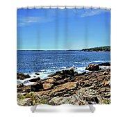 Coastline At Otter Point 5 Shower Curtain