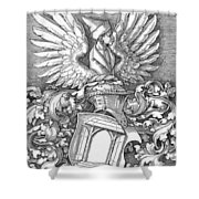 Coat Of Arms Of The House Of Dbcrer 1523 Shower Curtain