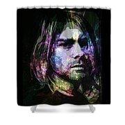 Cobain Shower Curtain