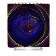 Cobalt Blue Shower Curtain