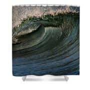 Cobalt Wave Shower Curtain