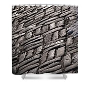 Cobble Stone Walk Shower Curtain