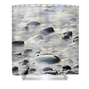Cobbles In The Mist Shower Curtain