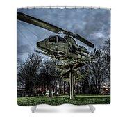 Cobra Helicopter Bristol Va Shower Curtain